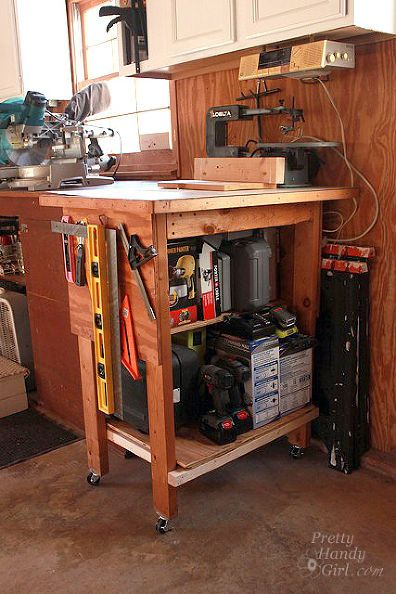 garage benchtop ideas - 290 best images about Tool Storage on Pinterest