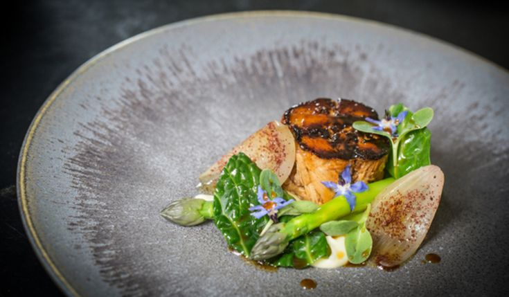 South Coast Turbot, Broccoli Kombu, Mussels And Sesame recipe by professional chef  Steve Drake