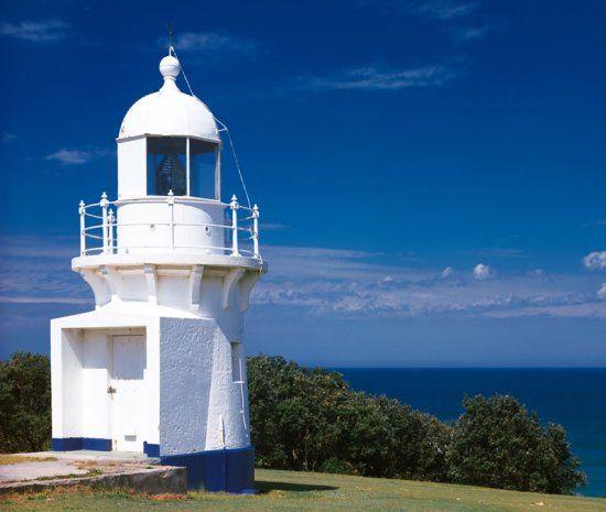 The Richmond River Lighthouse, Ballina [Photograph: Annette Flotwell]