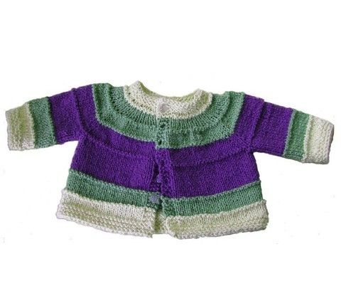 STRIPED BABY SWEATER @ patternfish $5