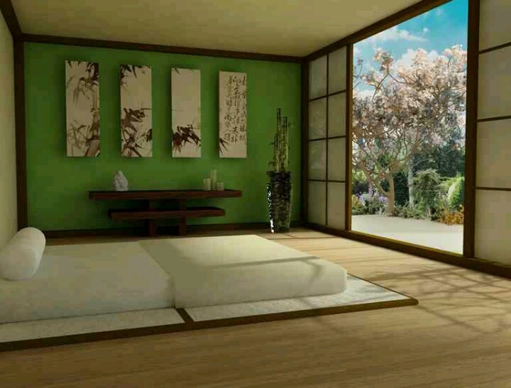 great zen inspired furniture. Beautiful Asian Bedroom Design With Artistic Wall Art-Rex Is Set On An Zen Theme For Our Bedroom, But He Wants To Do Green And Black Great Inspired Furniture O
