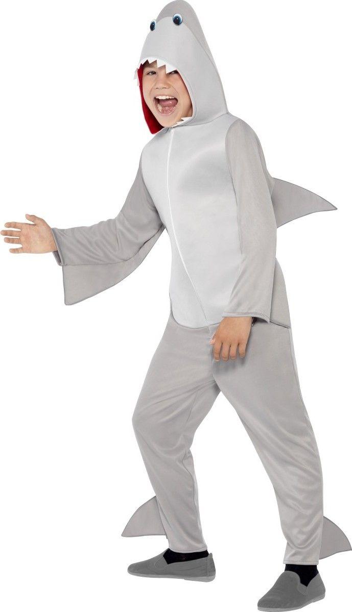 Ce costume de requin sera parfait pour effrayer vos amis à l'occasion d'une fête sur le thème de la mer ou des animaux.
