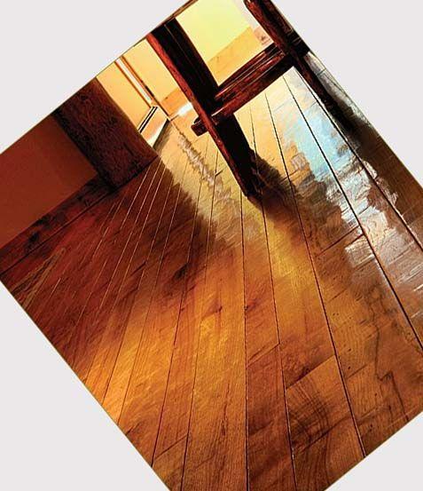 More Vinyl Plank flooring that looks like hand scraped wood!