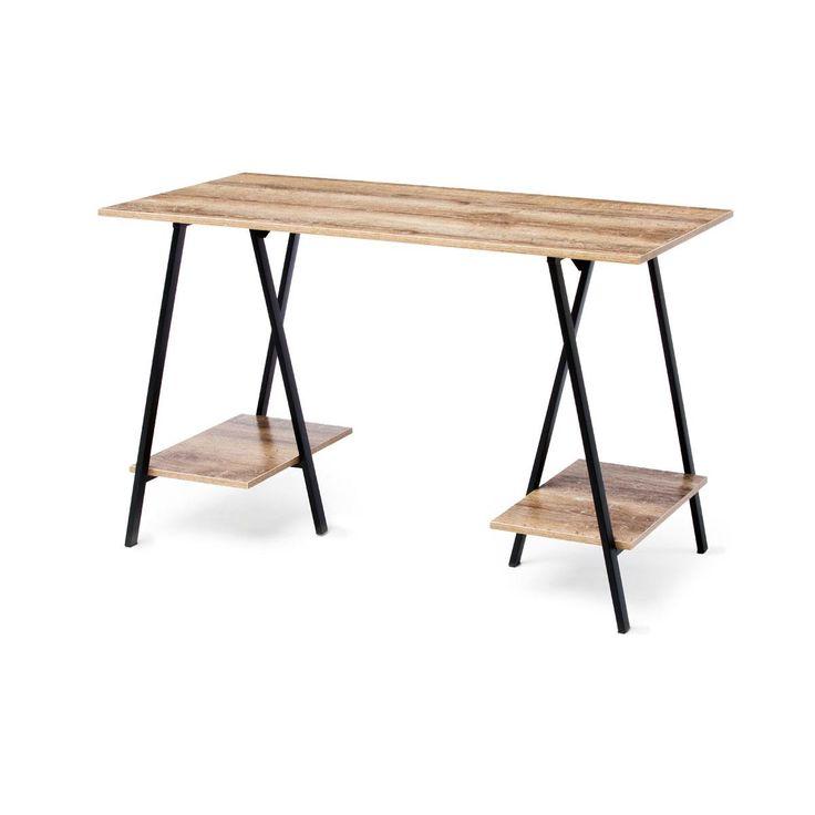 desk Industrial Trestle homemaker