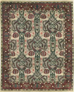 Celtic Knot (PC-40B) 6 x 9 Area Rug by the Persian Carpet Buy Online amirarugs.com $2,200