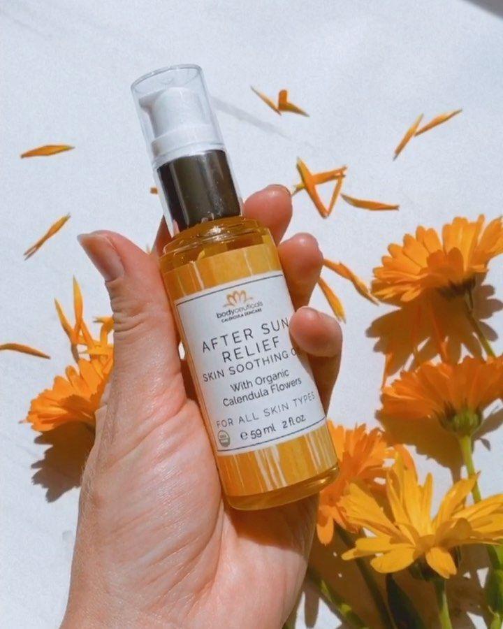 Take Care Of Your Skin Post Sun Exposure In 2020 Green Skincare Calm Redness Summer Skincare