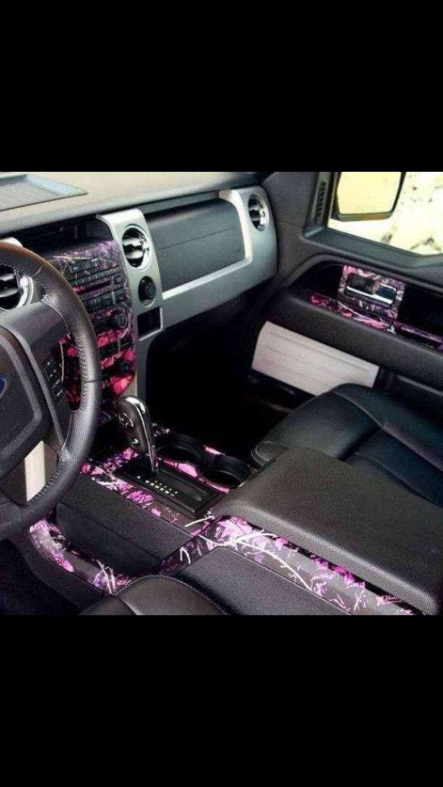 Camo interior! Love it!