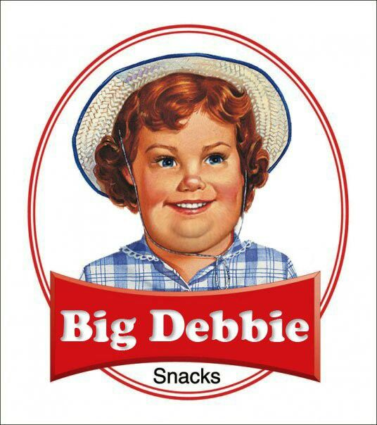 Haha the hard truth about junk food... From Lil Debbie to Big Debbie