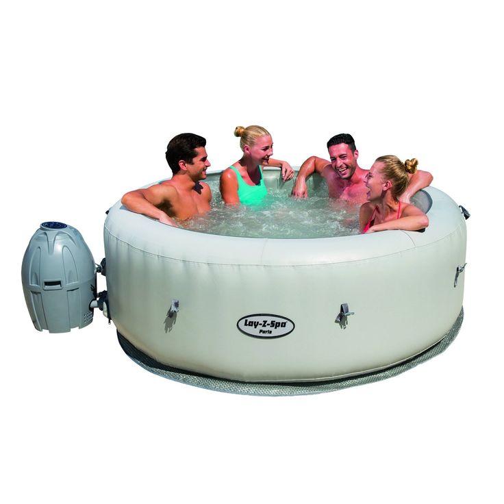 Amazonsmile saluspa paris airjet inflatable hot tub w