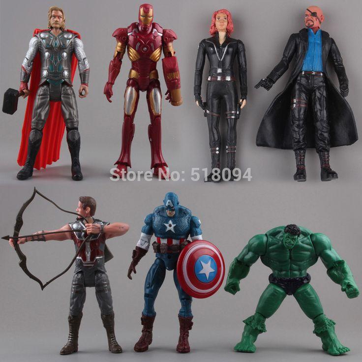 $15.99 (Buy here: https://alitems.com/g/1e8d114494ebda23ff8b16525dc3e8/?i=5&ulp=https%3A%2F%2Fwww.aliexpress.com%2Fitem%2FThe-Avengers-Hulk-Thor-Captain-America-Black-Widow-Iron-Man-PVC-Action-Figure-Toys-Dolls-7cs%2F32695277382.html ) The Avengers Hulk Thor Captain America Black Widow Iron Man PVC Action Figure Toys Dolls 7cs/set Free Shipping HRFG254 for just $15.99