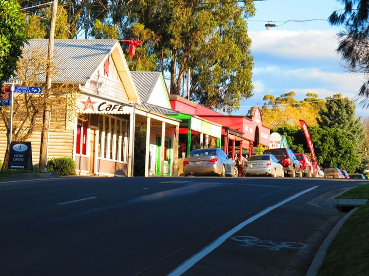 Main Road, Hepburn Springs