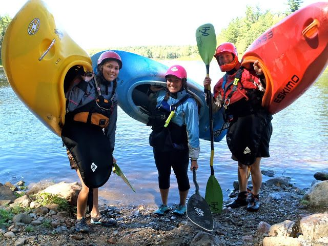 "Michelle writes about how she overcame her whitewater kayaking plateau with one easy ""tool."" Read on to find out what it is!"