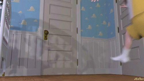 Andy jugando - Toy Story