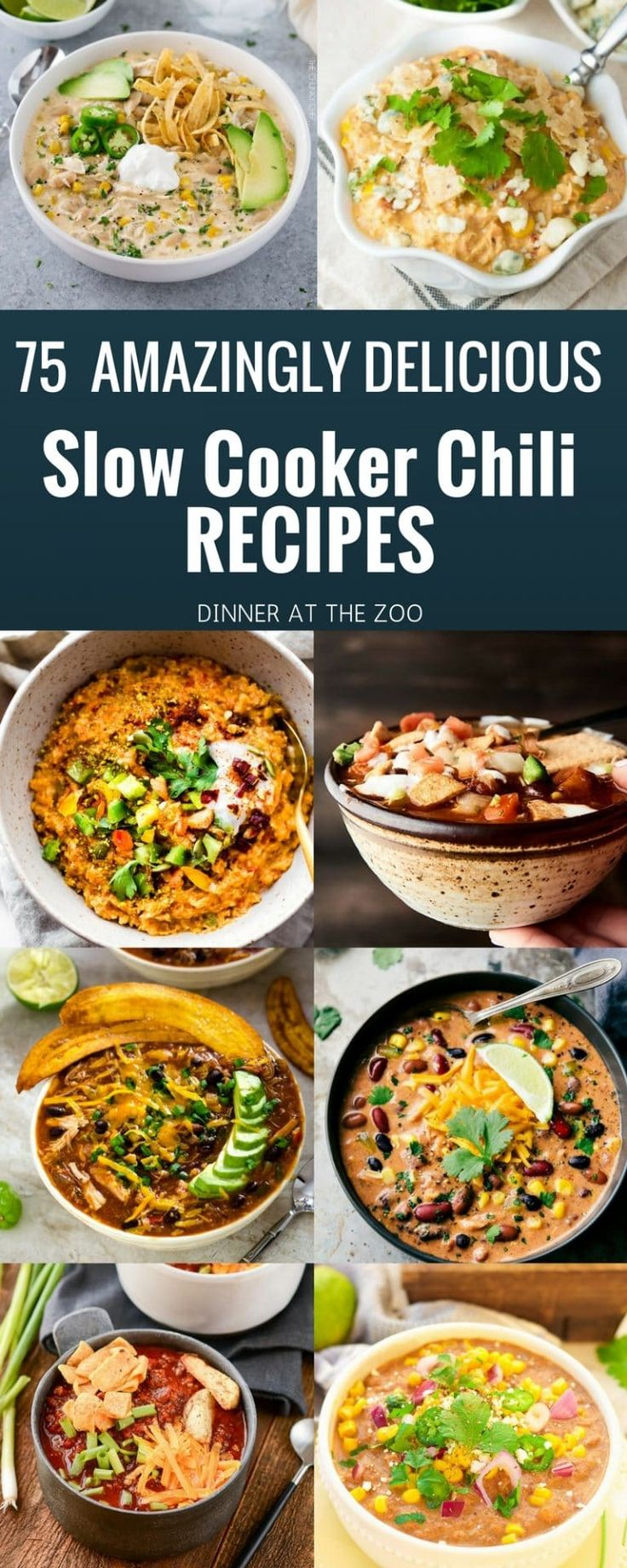 75 Amazingly Delicious Slow Cooker Chili Recipes