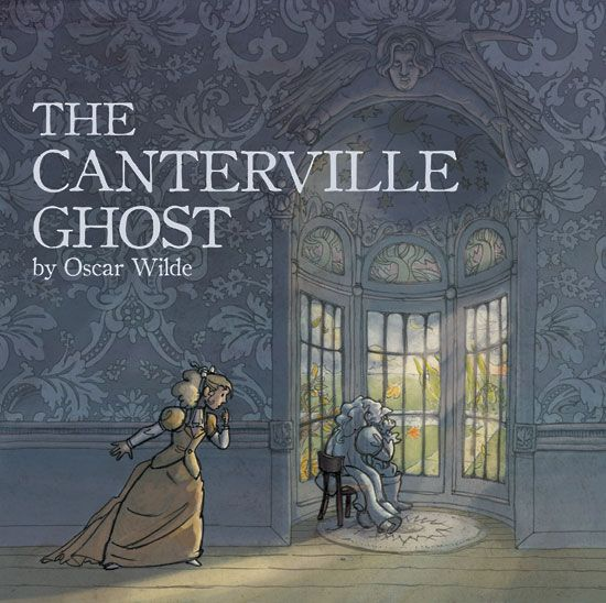 the canterville ghost by oscar wilde The canterville ghost by oscar wilde presents us with some humorous look at the afterworld the readers take a tour to britain, to an old castle known as canterville.