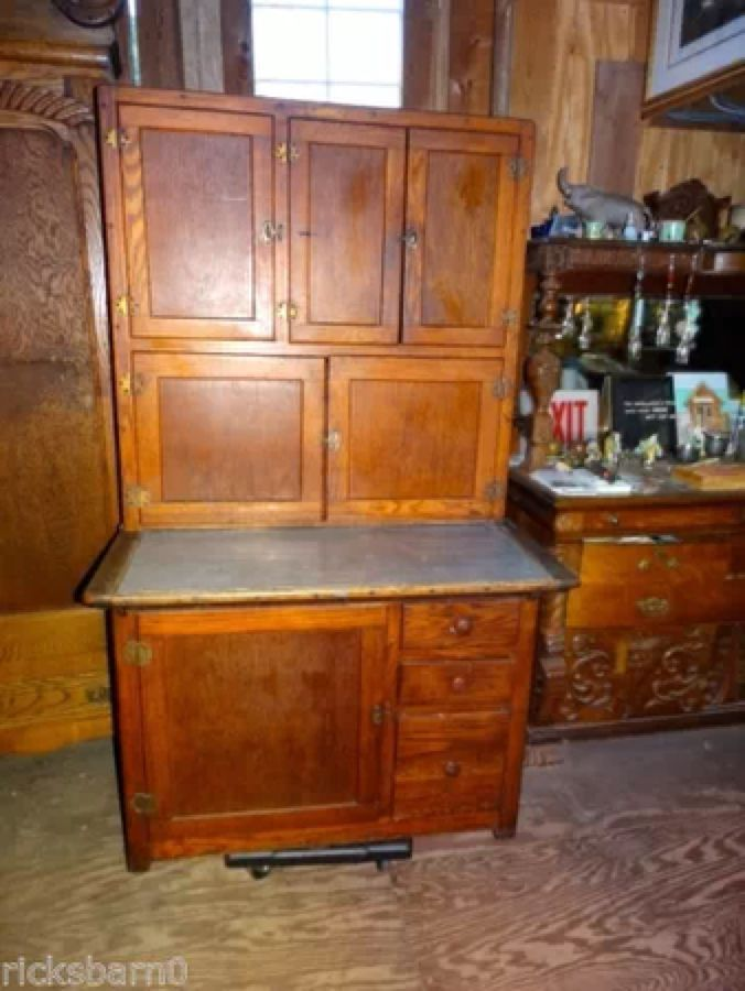 hoosier cabinet on pinterest grandmothers cabinets and paint