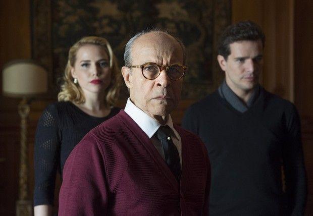 Osmar Prado interpreta o pai dos personagens de Letícia Colin e Daniel Oliveira (Foto:  Globo/Estevam Avellar)