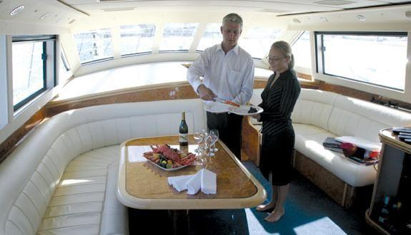 Luxury Motor Yacht Charter Sydney - Choice Charters