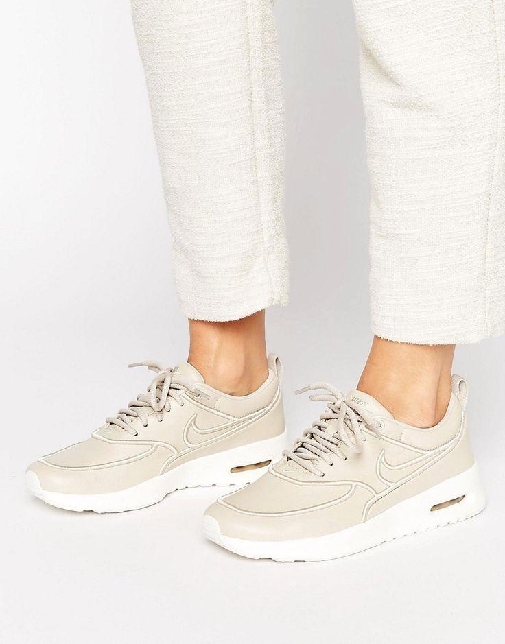 exclusieve Nike  Air Max Thea Ultra Premium In Beige