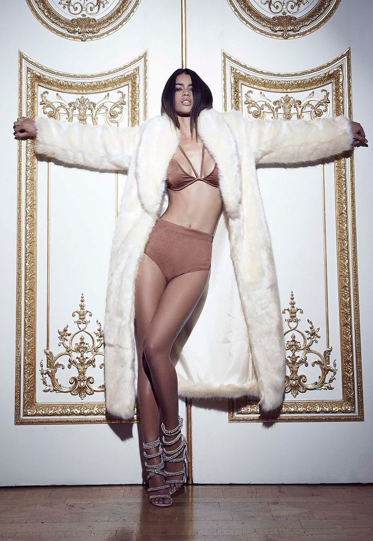 Peace + Love Longline Faux Fur Coat White - Coat - Fur - Missguided
