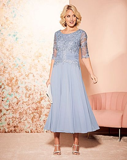 f7a86d0638c Nightingales Cornelli And Chiffon Dress in 2019