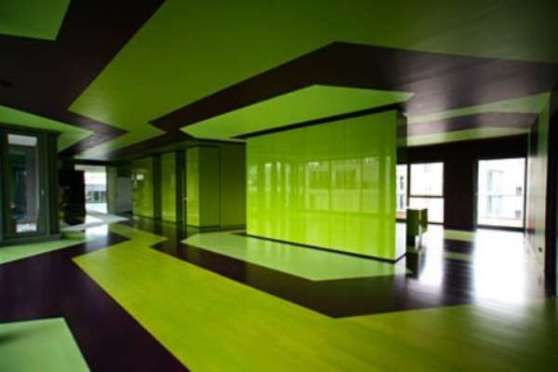 Oberwall Green Color Scheme Of Interior Design By Mayer Architecture Green