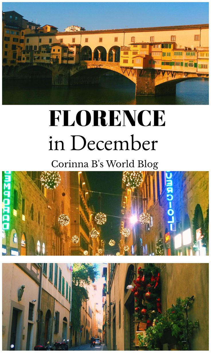 9 Reasons Why You Should Visit Florence In December. The holiday season in Florence is magical! Few tourists, no lines to see anything, the Christmas market - there are lots of reasons to visit Florence in December, here are 9 of them. #Florence #ItalyTravelTips #DecemberInItaly