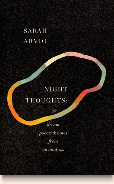 """Sarah Arvio's """"Night Thoughts"""", cover by Peter Mendelsund - can't get enough of this guy."""