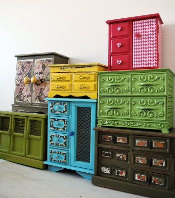 Happy Day Vintage: Upcycled Thursdays - Jewelry boxes
