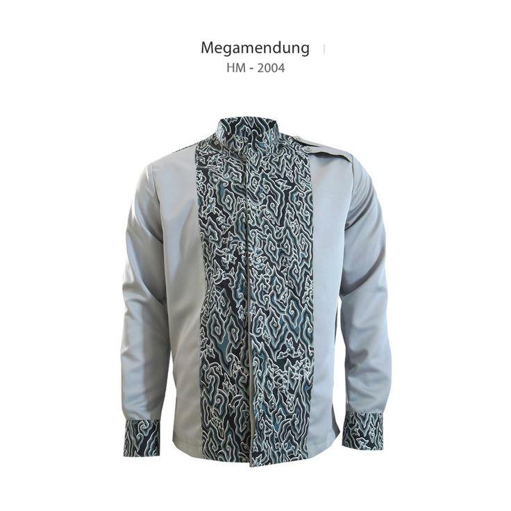 Batik Megamendung dalam Kemeja Trion HM-2004  #kemejabatikmedogh  http://medogh.com/baju-batik-pria/kemeja-batik-pria/Kemeja-Batik-Optimus-Series-Kemeja-Trion-HM-2004