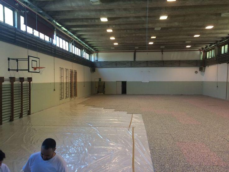 #parquet #sportivi #dallariva #madeinitaly #flooring #floors #sportsfloors