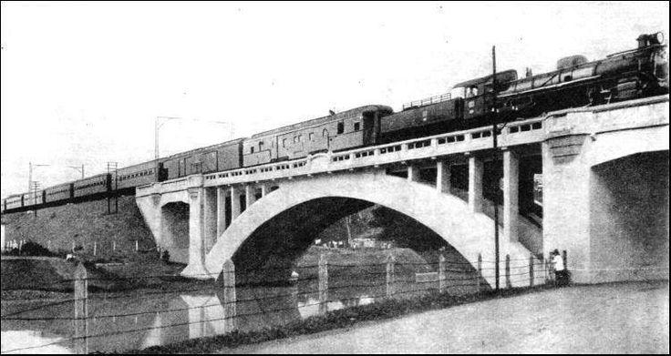 jembatan kereta api 1930, kereta dari bukit duri ke manggarai