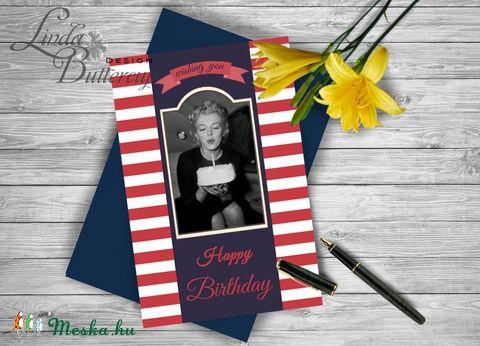 Szülinapi üdvözlőlap, Marilyn Monroe, Vicces Születésnapi képeslap, Szülinap kártya, Apa, Apu, Apák napja, Férfiaknak, Naptár, képeslap, album, Képeslap, levélpapír, Legénylakás, Meska