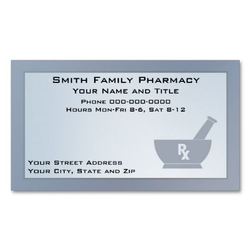 17 best images about pharmacist business cards on for Pharmacist business card