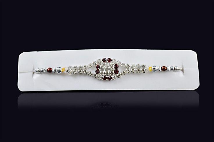 Buy+Rakhi+Online+Free+Exclusive+Multi+Colour+Diamond+Price+₹0.00