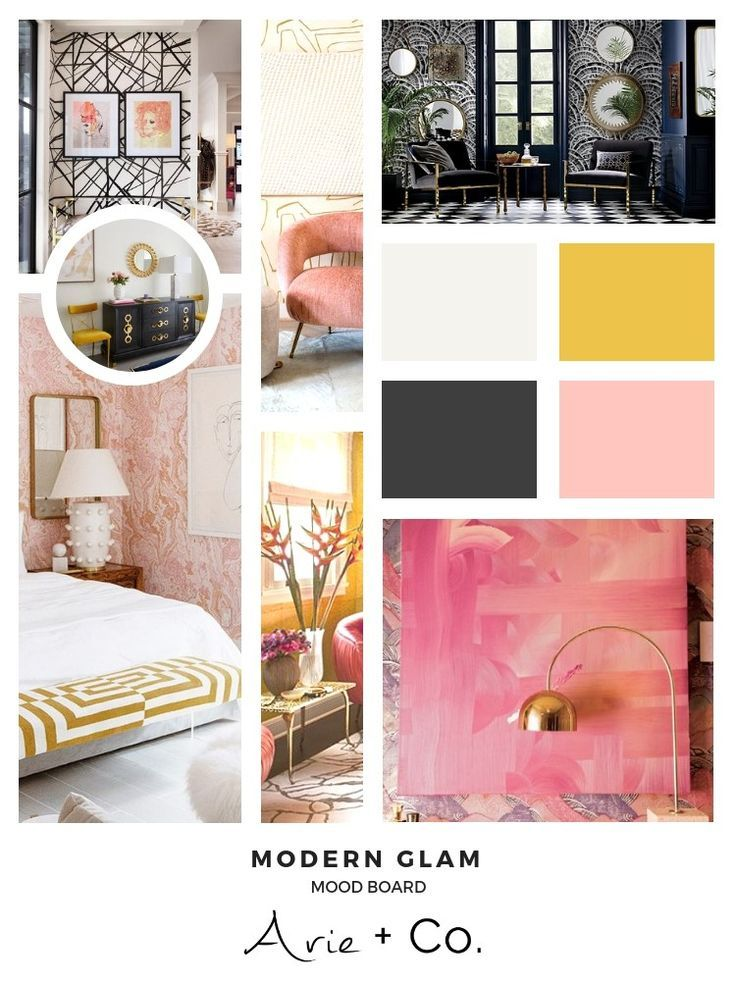 Interior Design Style Files Modern Glam Mood Board We Are Want To Say Thanks If You Like To Share T Interior Design Mood Board Interior Design Styles Interior