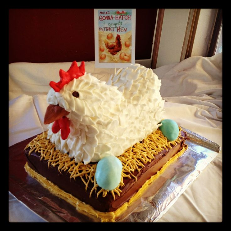 Mother Hen Cake: Chicken Baby Shower, Cakes Bakin, Birthday Parties, Fun Cakes, Hens Cakes, Chicken Cakes, Chicken Birthday Cakes, Cakebakin Friends, Baby Pictures