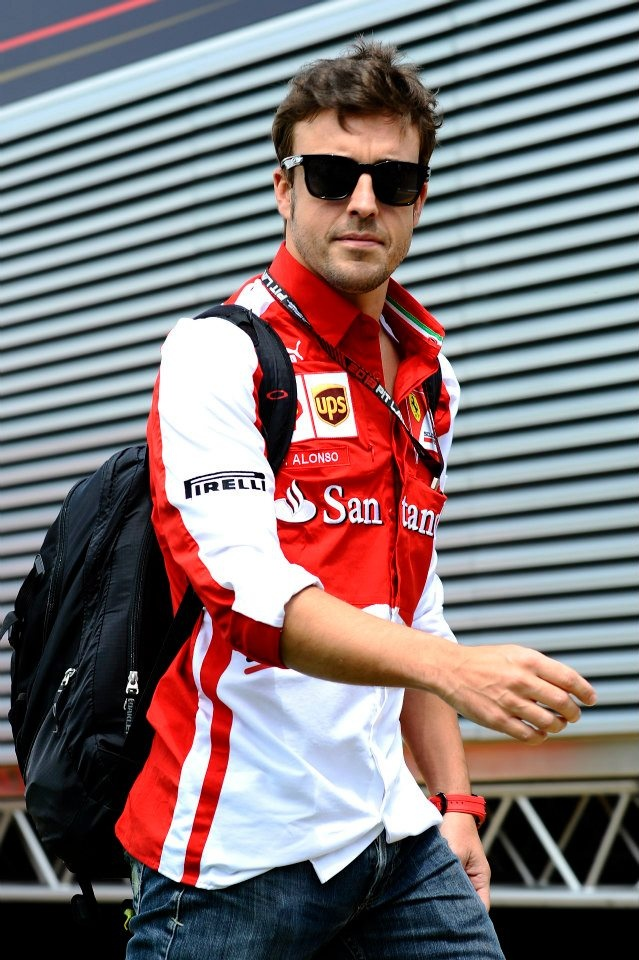 Fernando Alonso Díaz (born 29 July 1981 in Oviedo, Asturias, Spain is a Spanish Formula One racing driver and a two-time World Champion who is currently racing for Scuderia Ferrari.