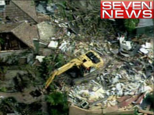 7 NEWS has been all over this..... now from above...