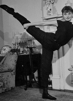 Audrey Hepburn At Home In London by Walter Carone on Getty Images   charming