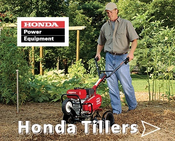 Honda Tillers Available Nationwide