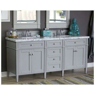 James martin brittany 72 double bathroom vanity cabinet for Bathroom cabinets urban ladder