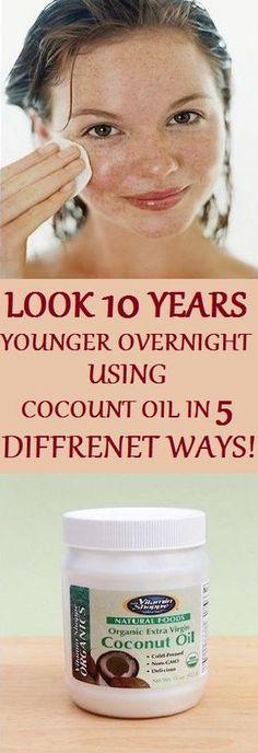 Coconut oil for skin, shaving and cellulite