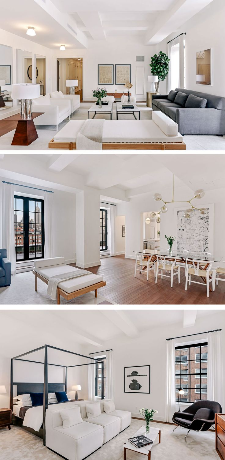 Whats More New York Than Views Of The Empire State Building Throughout Your West Village Home Be First To Live In This Brand Three Bedroom