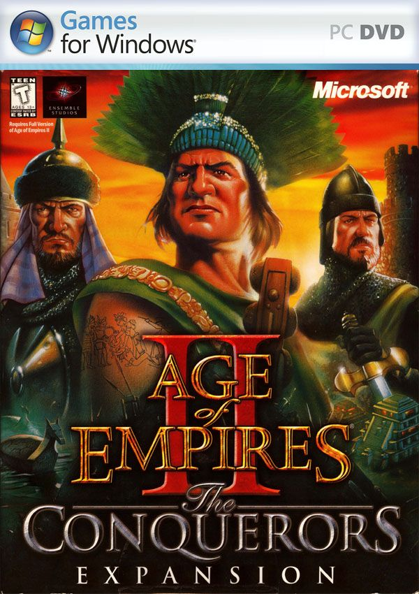 Age Of Empires Ii The Conquerors Download Cover Free Game Age Of