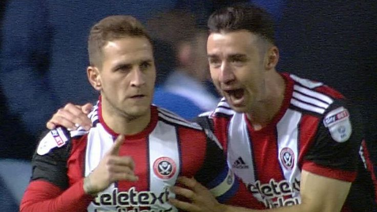Leeds 1-2 Sheffield United: David Brooks scores a late winner to send the visitors top of the Championship http://skysports.tv/LN0APA