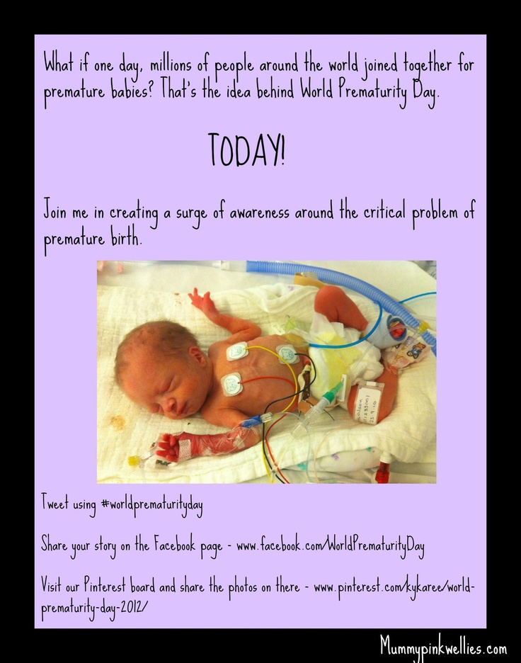 Premature Baby Gifts Ireland : Ideas about world prematurity day on