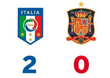 Italia elimina a España en octavos de la Eurocopa