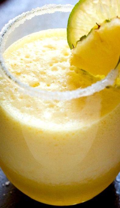 Fresh Pineapple Margarita | Recipe