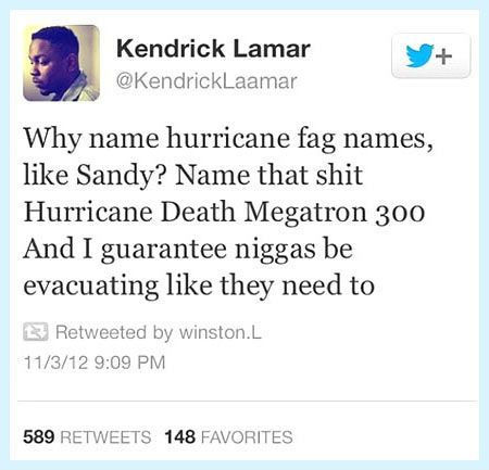 The problem with hurricane names…
